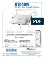 Dukane 8104HW Projector