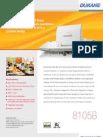 Dukane 8105B Projector