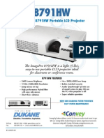 Dukane 8791HW Projector