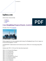 Cara Menghitung Progress Proyek _ Level-3 Breakdown (2) _ Kqlima