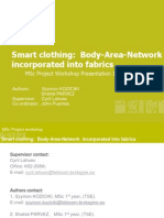 Smart Clothing- Body Area Network Incorporated Into Fabrics_PRESENTATION