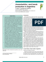 Development, Characteristics, And Trends for Beef Cattle Production in Argentina