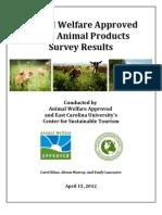 2011 Animal Products Survey