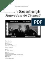 Steven Soderbergh - Postmodern Art Cinema