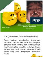 KIE (Komunikasi Informasi Dan Edukasi)
