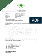 Admin Assistant Dispatch TFO JD-111014