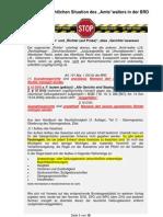 """Merkblatt zur rechtlichen Situation des """"Amts""""walters in der BRD"""