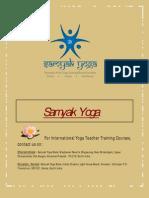 Final Samyak Yoga Document