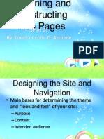 Designing Webpage