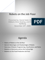 Robots on the Job Floor