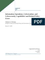 Information Operations, Cyberwarfare