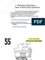 5S work place organization