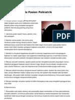 Artikelkedokteran.com-Anamnesis Pada Pasien Psikiatrik