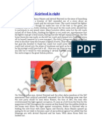 Youth Voice Kejriwal is Right