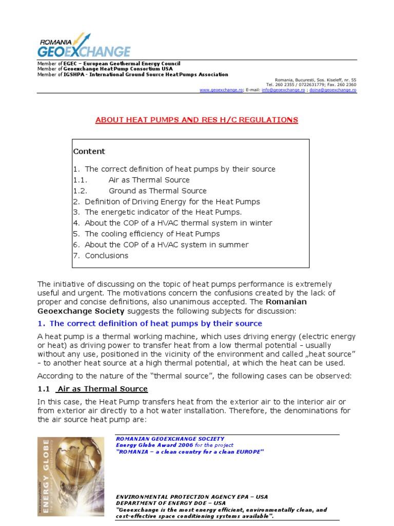 about heat pumps and res hc regulations   heat pump   hvac