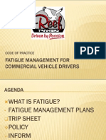 Fatigue Management 15-10-2009