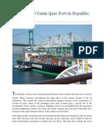 Know About Umm Qasr Port in Republic of Iraq