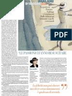 Patrizia Valduga Su Le Passioni Ci Fanno Resuscitare - La Repubblica 27.12.2012