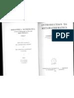 Kleene - Introduction to Metamathematics