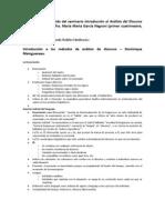 Resumen Final Introduccion Al Analisis Del Discurso