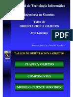 Introducción a la teoría de Orientación a Objetos.