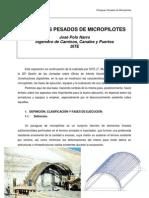 paraguas micropilotes