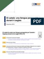 El català, una llengua perseguida per l'Estat espanyol