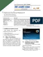 Articles-Déploiement d'un Réseau Téléphonie IP