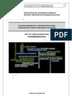 192. GESTION INSTITUCIONAL EN LAS ESCUELAS DE NUESTRO TIEMPO