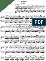 Chopin Etudes op25
