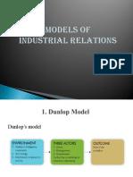Models of Industrial Relation