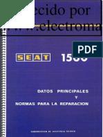 Seat 1500 Manual Taller