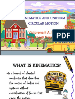 Kinematics and Circular Motion