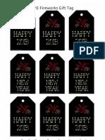 NYE Fireworks Printables