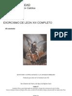 Exorcismo de Leon XIII
