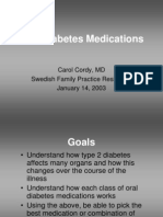 oral diabetic medication
