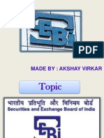 SEBI Regulator
