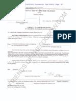 EDCA ECF 24 - Grinols v Electoral College -Subpoena to Alvin Onaka