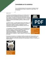 Huellas de enfermedades en la cerámica prehispánica