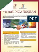 Viterbi India Program Final Flyer