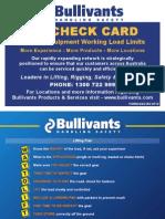 rig check card