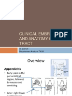 Clinical Embriology and Anatomy of Gi Tract Part1