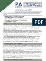 2012-12-18 IFALPA Daily News