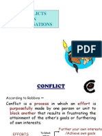 conflicts in organisations