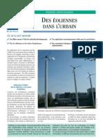 +EXA éoliennes en milieu urbain _typologies présentes en Île-de-France _plaquette arene2005
