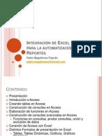 Automatizacion de Reportes con Excel y Access