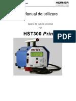 Manual Aparat Sudura Hst300 P+