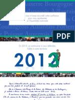 Voeux de Guillaume Larrivé, député de l'Yonne, pour l'année 2013