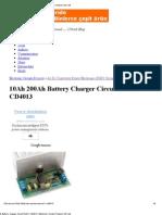 10Ah 200Ah Battery Charger