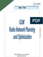 GSM Radio Planning and Optimization